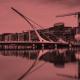 Dublin at Dusk_Maroon